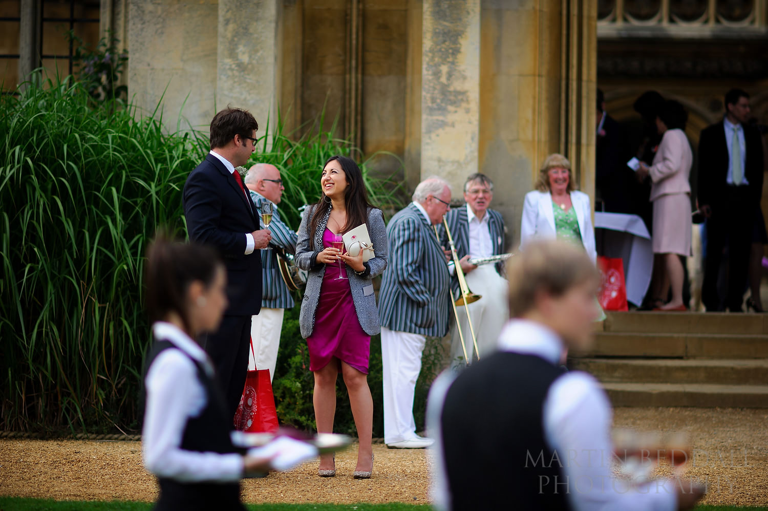 drinks reception at St John's college