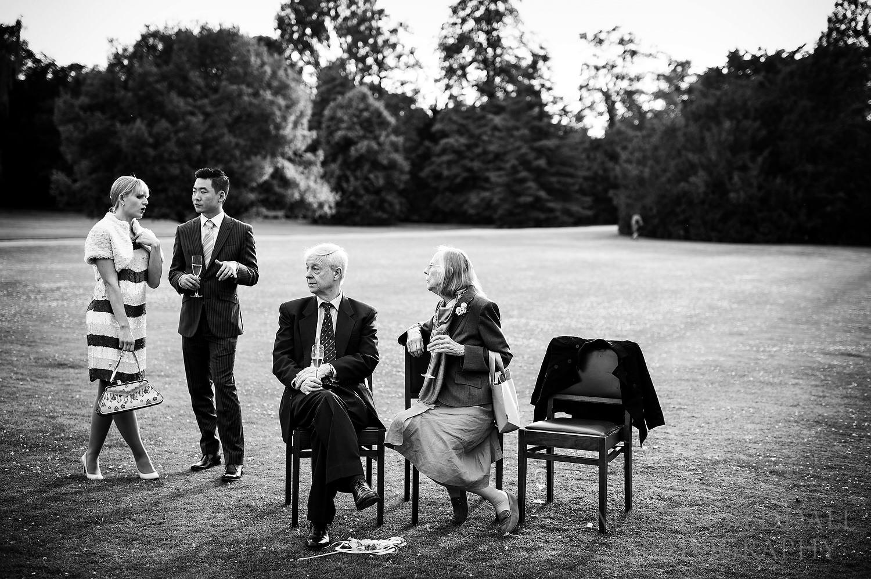 english wedding at Cambridge college