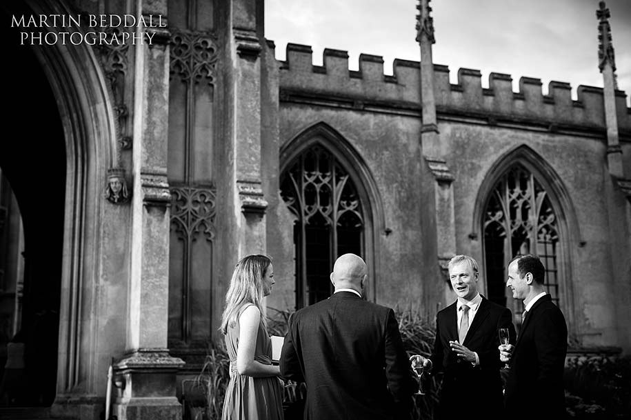 Wedding reception at St John's college Cambridge