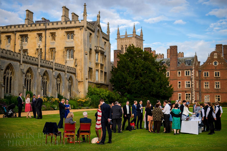 St John's College wedding