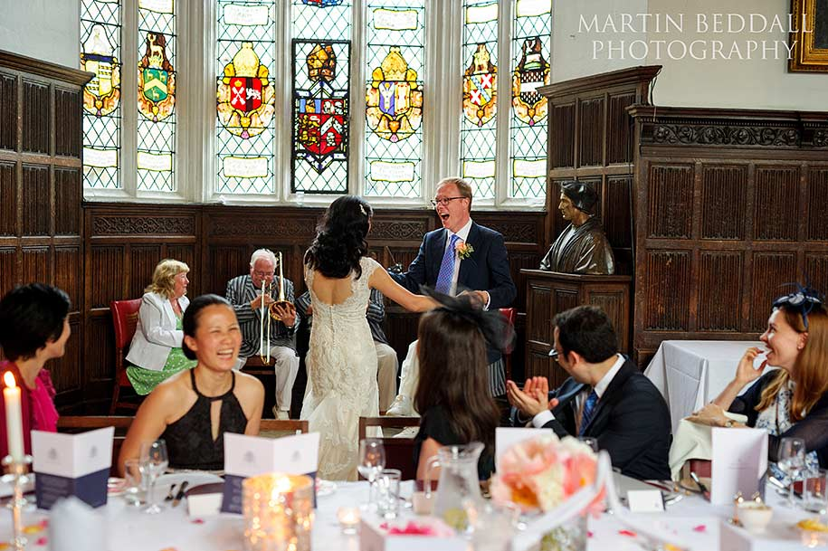 Queens College wedding