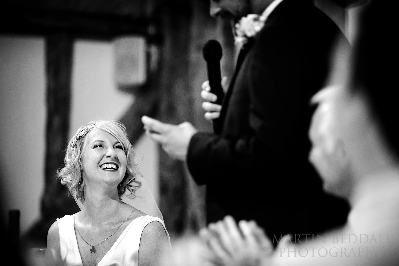Groom's speech at South Farm wedding