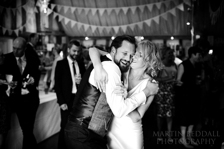 First dance at South Farm wedding