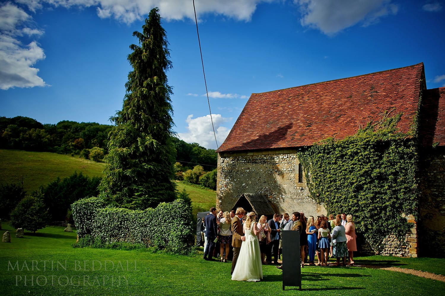 Summer wedding at the Lost Village of Dode