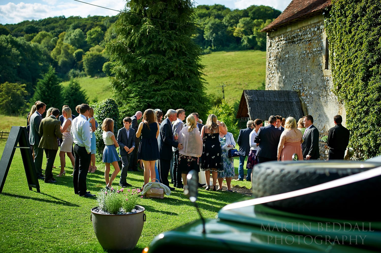 Lost Village of Dode wedding reception