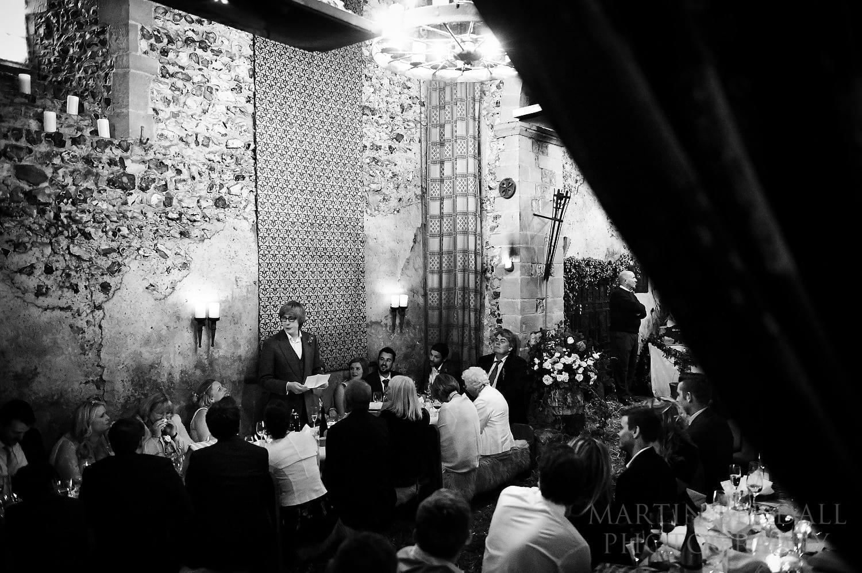 Groom's speech at Lost Village of Dode wedding