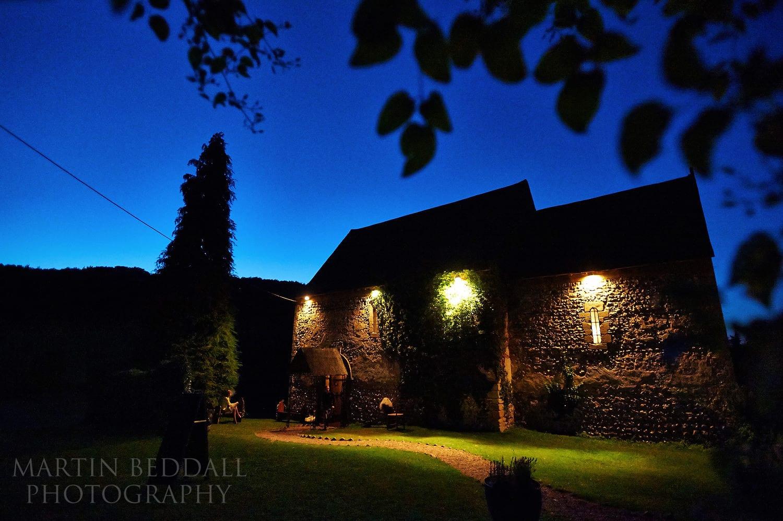 Summer evening at Lost Village of Dode wedding