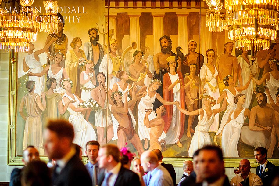 One Whitehall Place wedding reception