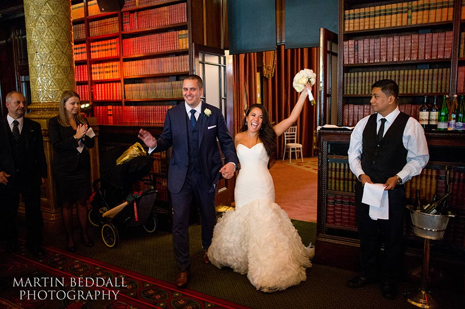 One Whitehall Place wedding photography