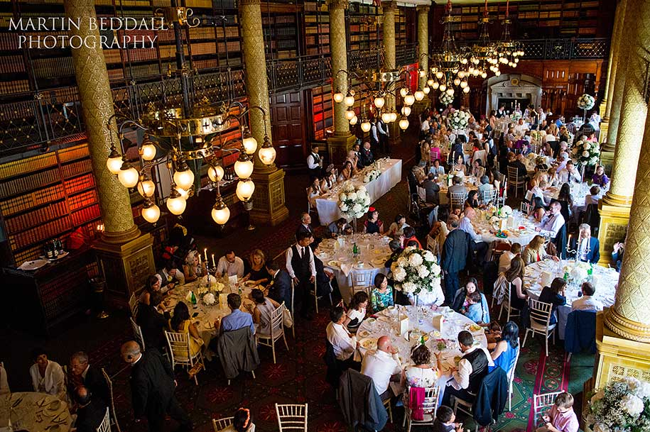 One Whitehall Place wedding breakfast