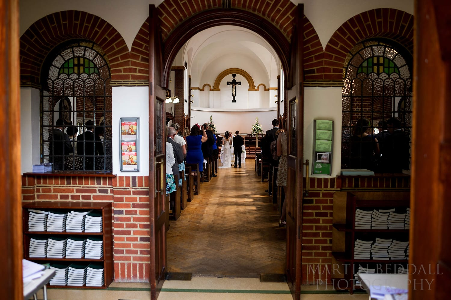 Wedding at St Paul's church in Haywards Heath