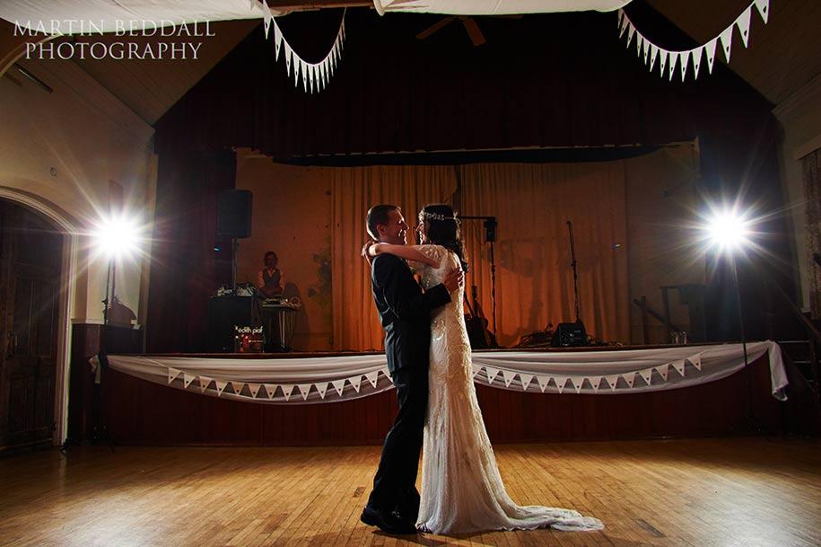 First dance in Queen's Hall in Cuckfield
