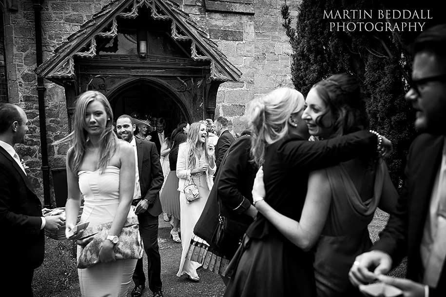 gravetye manor wedding shot by martin beddall