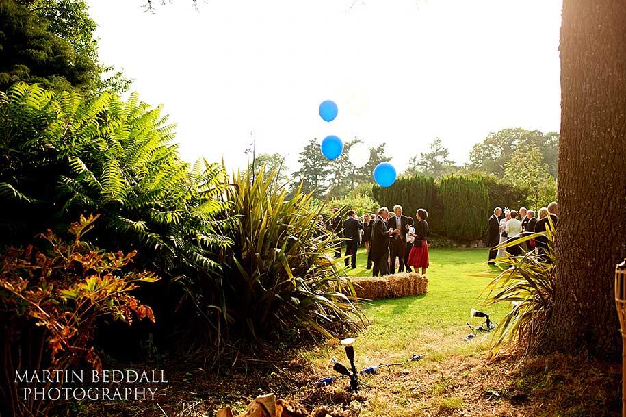 New Forest wedding reception