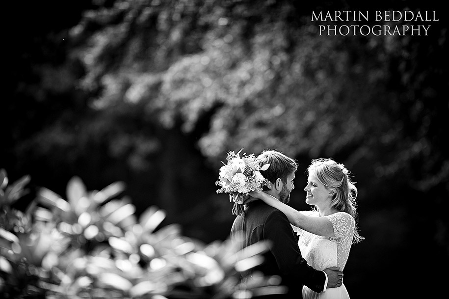 New Forest wedding bride and groom