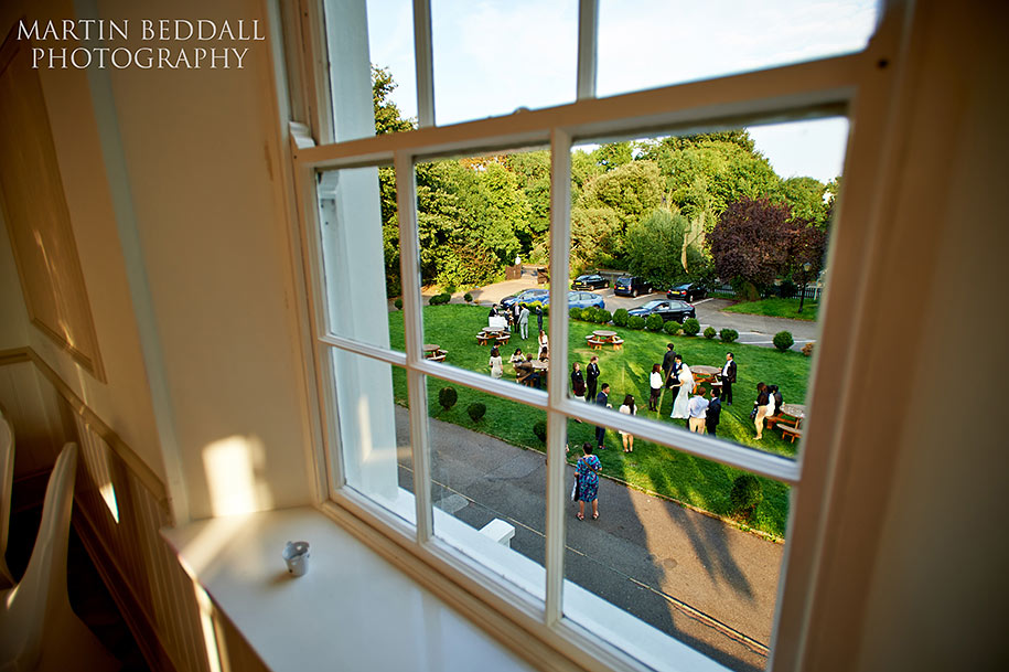 Wedding reception at Belair House in Dulwich