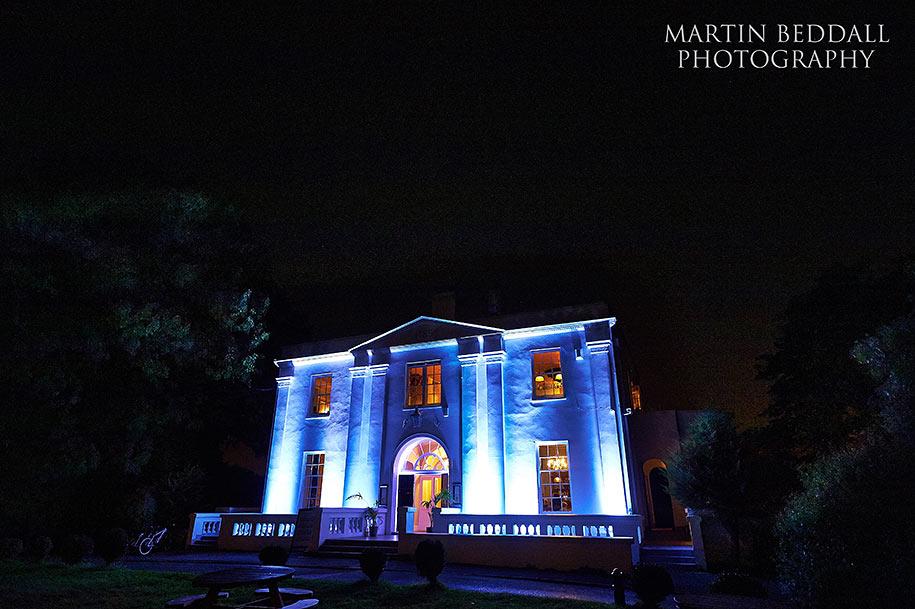 Belair House wedding reception
