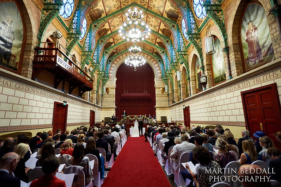 Northampton Guildhall wedding ceremony