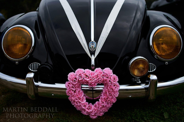 Wedding VW beetle