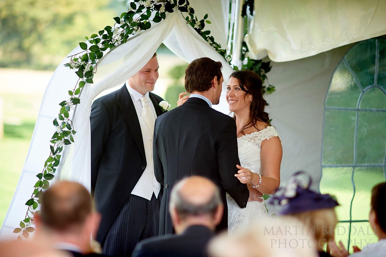 Bartholomew Barn wedding
