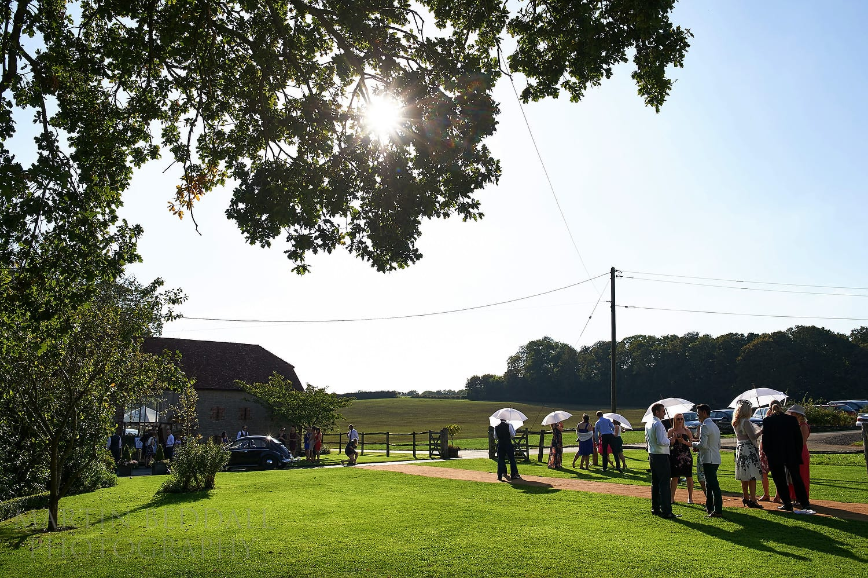 Summer Bartholomew Barn wedding