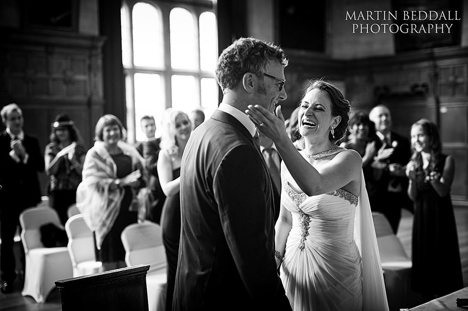 Oxford Town Hall wedding ceremony