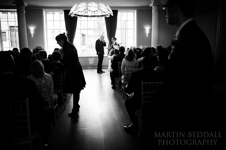 Ceremony room at the Royal Society of Arts