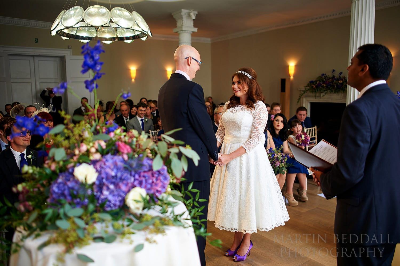 Royal Society of Arts wedding ceremony in London