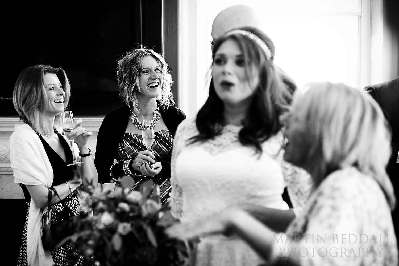 Royal Society of Arts wedding guests