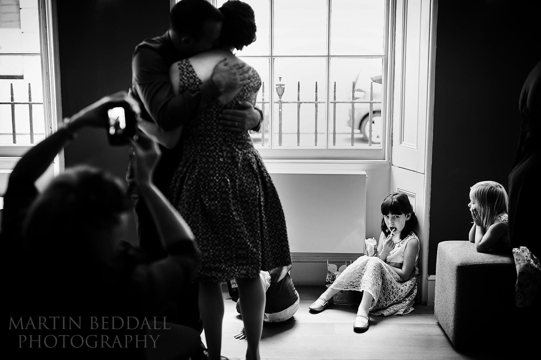 Reportage wedding photography at the Royal Society of Arts