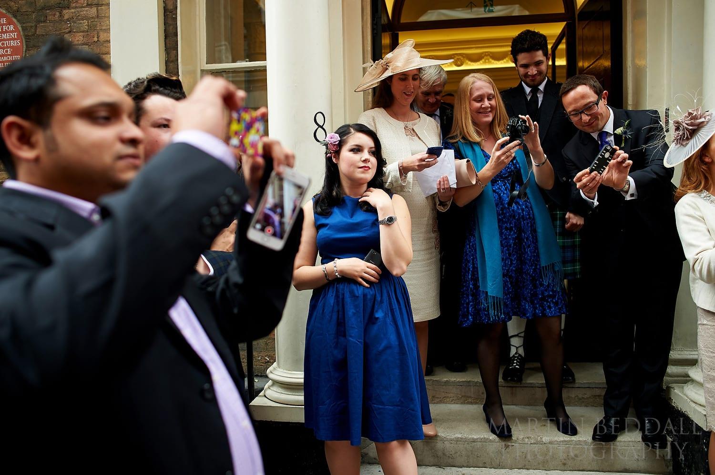 Royal Society of Arts wedding