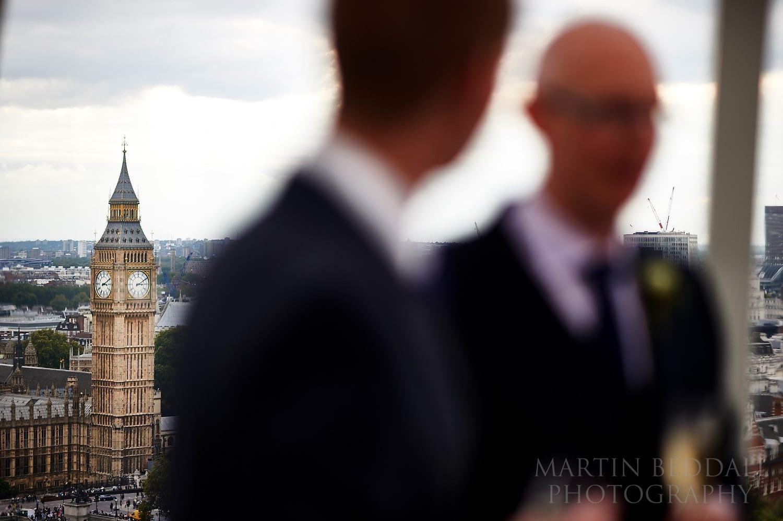 London Eye wedding