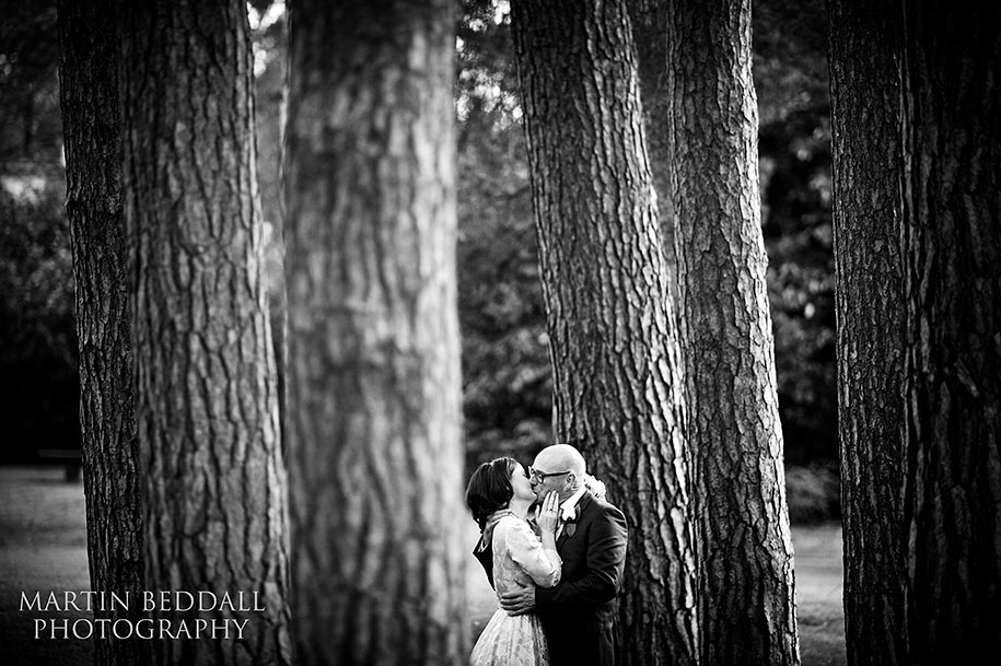 Bride and groom portrait at Gorse Hill hotel