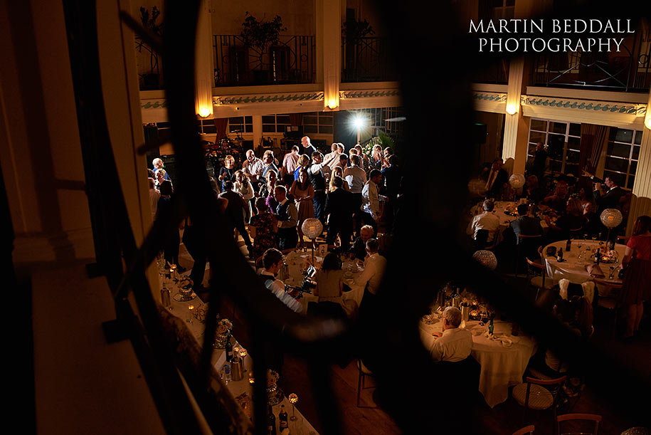 Southern pavilion wedding reception