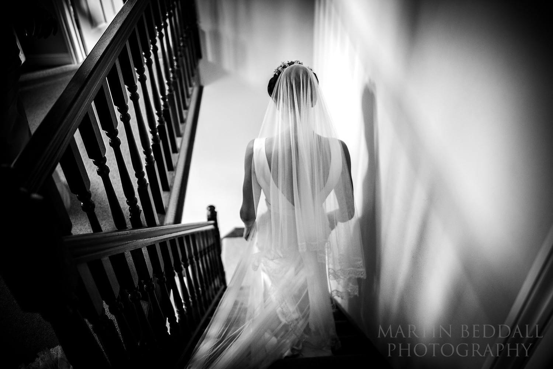 Layer Marney Tower wedding bride