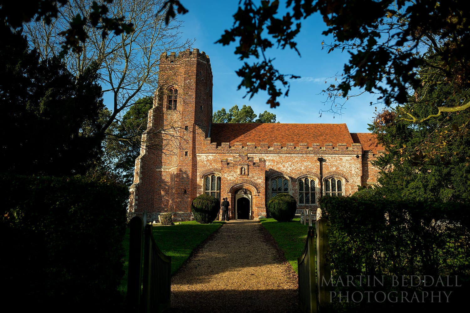 Layer Marney Tower church in Essex