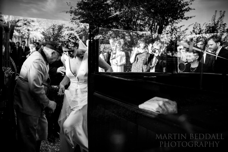 Layer Marney Tower wedding car