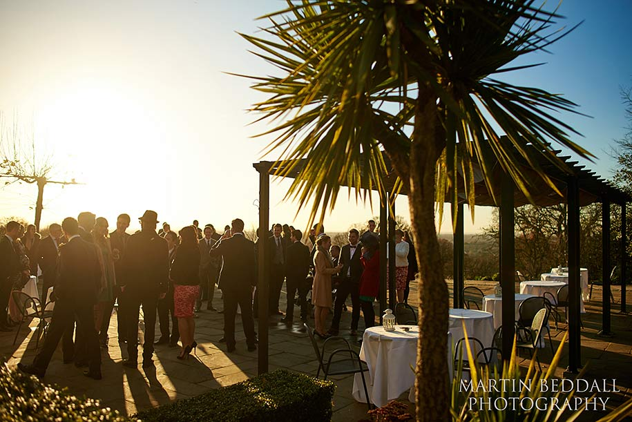 wedding reception at pembroke Lodge