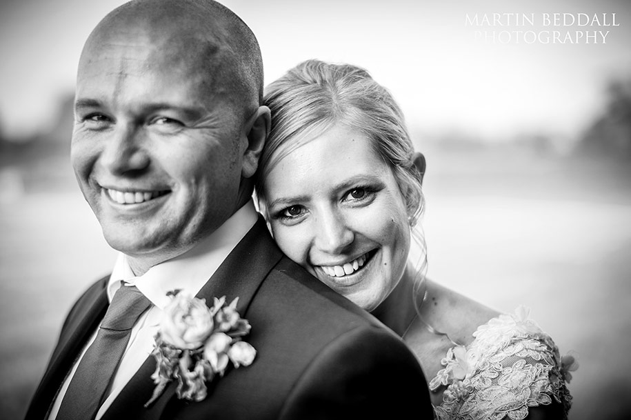 Southend Barns bride and groom portrait