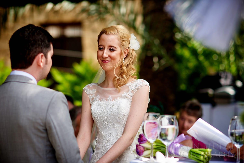 Bellapais Abbey wedding ceremony