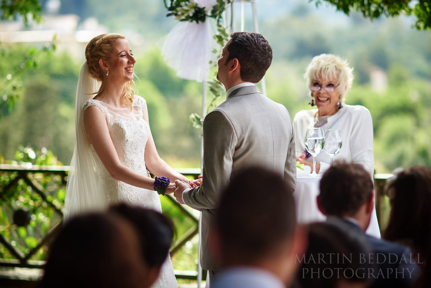 Humanist wedding ceremony at Bellapais Abbey