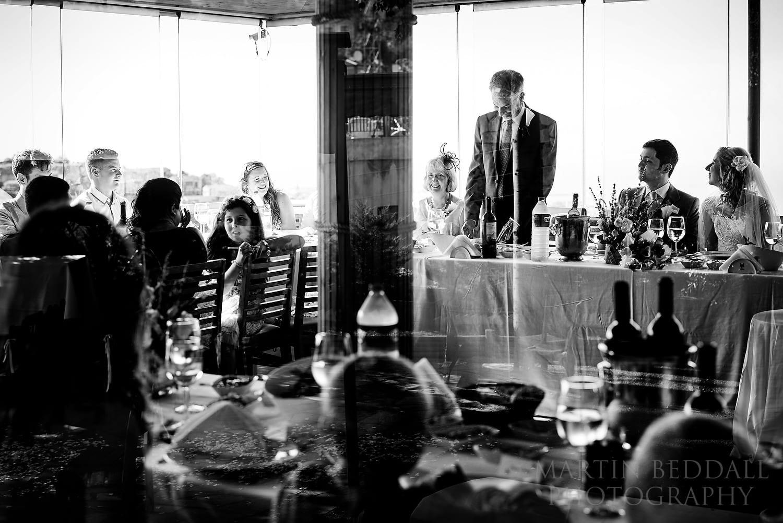 Bellapais Abbey wedding speeches