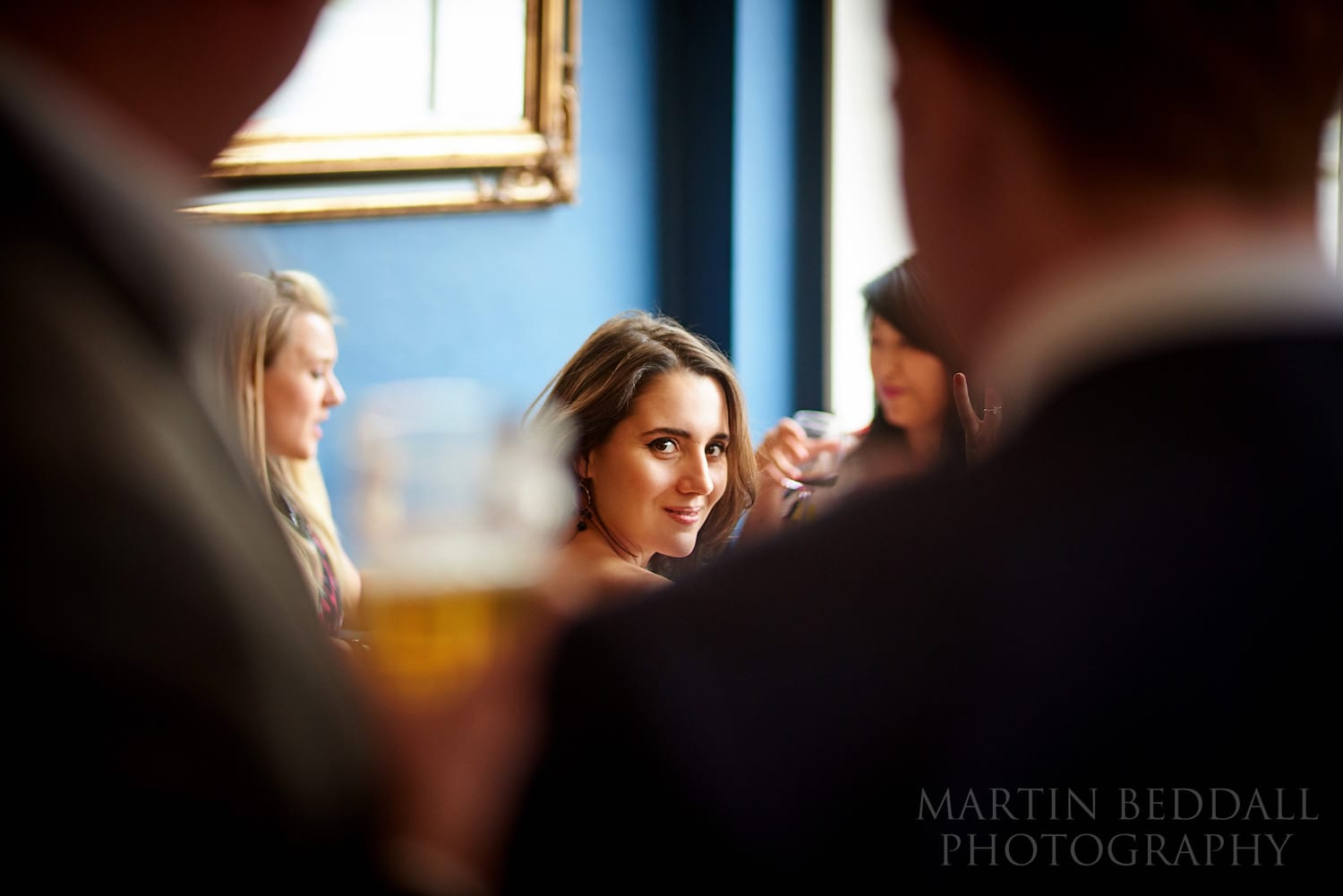 Wedding reception at The Green pub in Clerkenwell