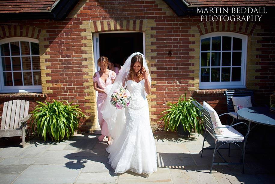 Bride at Southend Barns