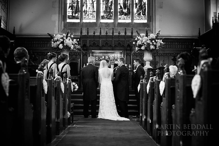 Harris Manchester college wedding ceremony