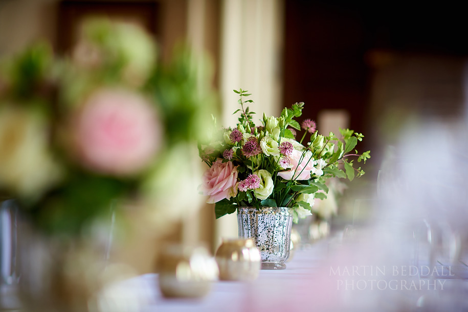 Flowers at Kirtlington Park wedding