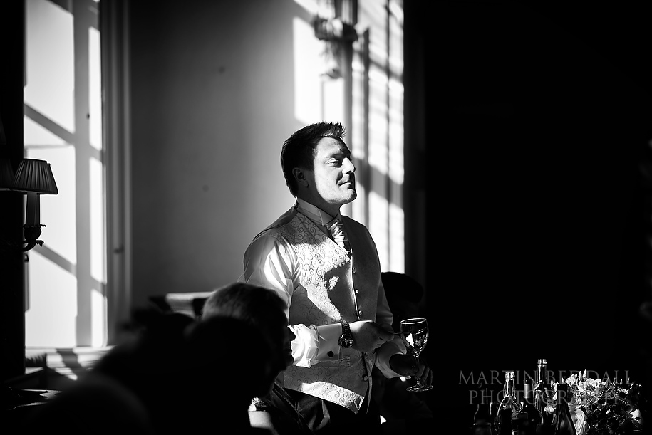 Kirtlington Park wedding speeches
