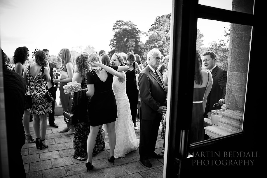 Kirtlington Park wedding reception