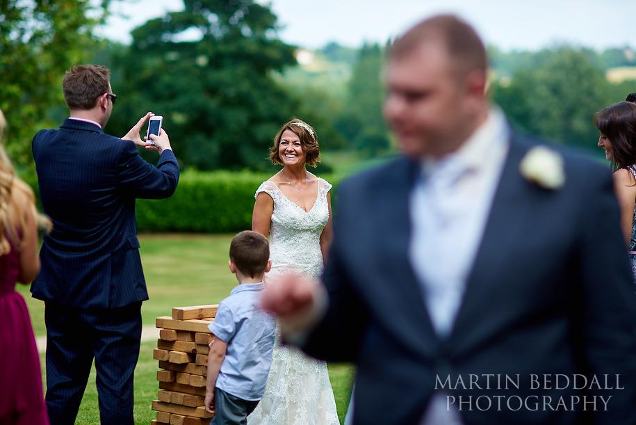 Maison Talbooth wedding © Martin Beddall