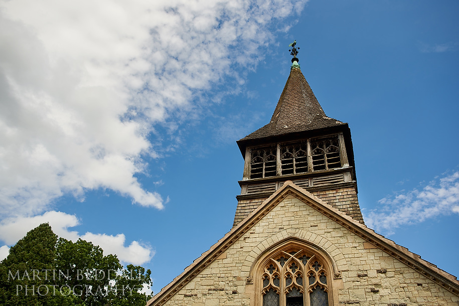 St Bartholomwe's church in Leigh in Surrey